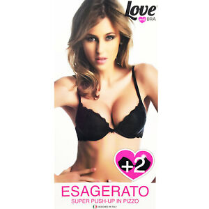 64e2180fc7 Womens Bra super push up lace +2 sizes padded Love and Bra ...
