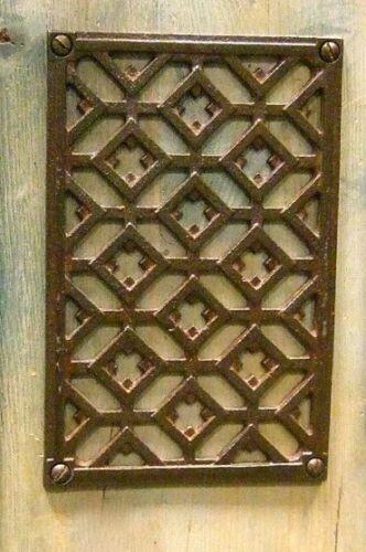 Lüftungsgitter für Kamine, Kamingitter als Luftgitter 11,5 x 17,5 cm, Warmluft