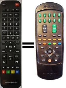 Telecomando gia' programmato per TV MIVAR