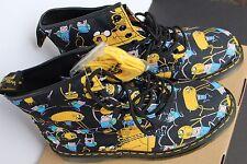 New Women Men DOC DR Martens Castel Comic Cartoon England Boots Shoe 10 11 12 45