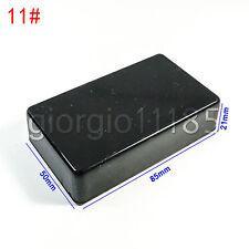 Us Stock 2pcs Plastic Project Box Electronic Enclosure Case Diy 85 X 50 X 21mm