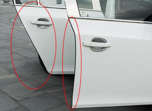 Car Door Scratch Strip Protector Edge Guard Rubber Sealing Anti-rub Transparent