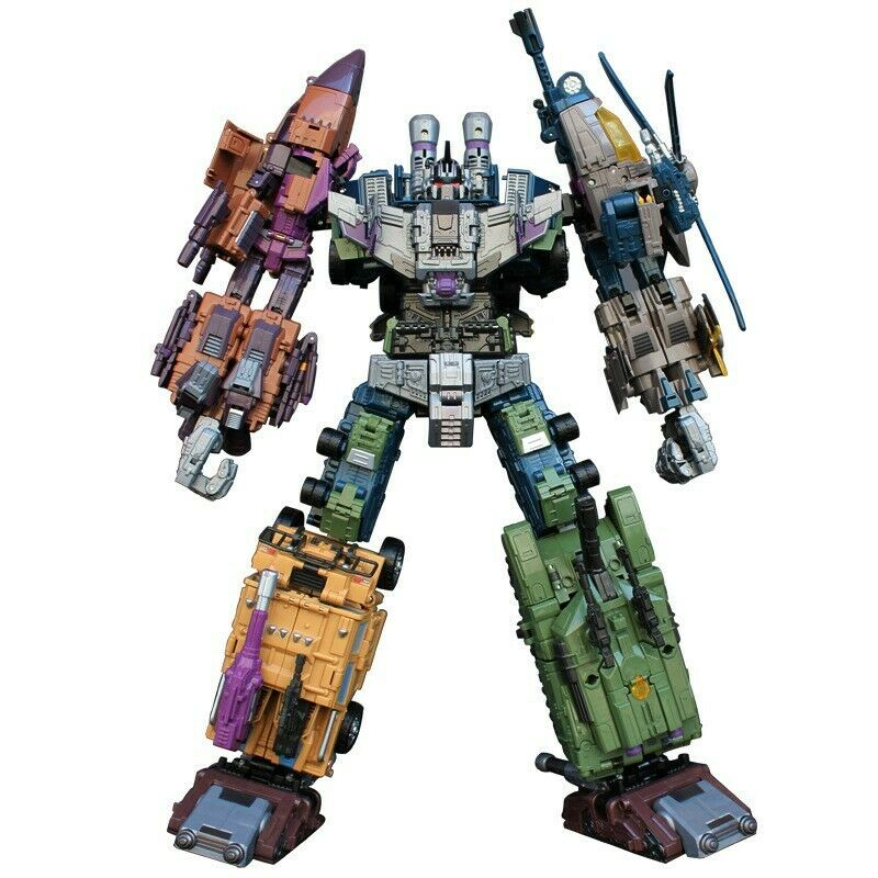 Cool overTallad Transformers with Bruticus warbotron Decepticons Figura Juguetes os12