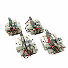 Lot Of 4 Smc Ss5yj3 Duk02255 Manifold With 2 Syj3133 5lou Amp 2 Sy114 5mou