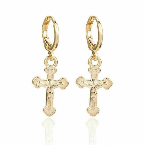 Fashion Boho Round Earrings Women Metal Geometric Pearl Dangle Earrings Jewelry