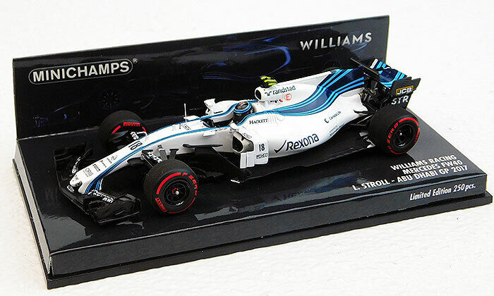 1 43 Minichamps Williams F1 Martini Racing 2017 Abu Dhabi Grand Prix Promenade 417172018