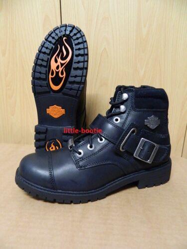 HARLEY-DAVIDSON Boots Stivali Uomo Nero Pelle Tg 42//45//46 93461 Bowers