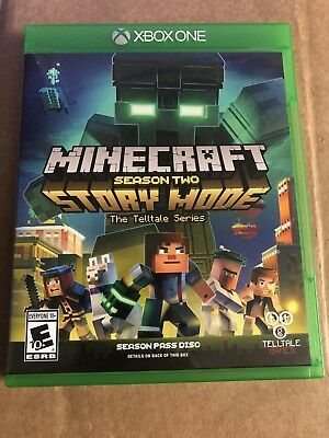 Minecraft Story Mode Season Two Season Pass Disc Microsoft Xbox