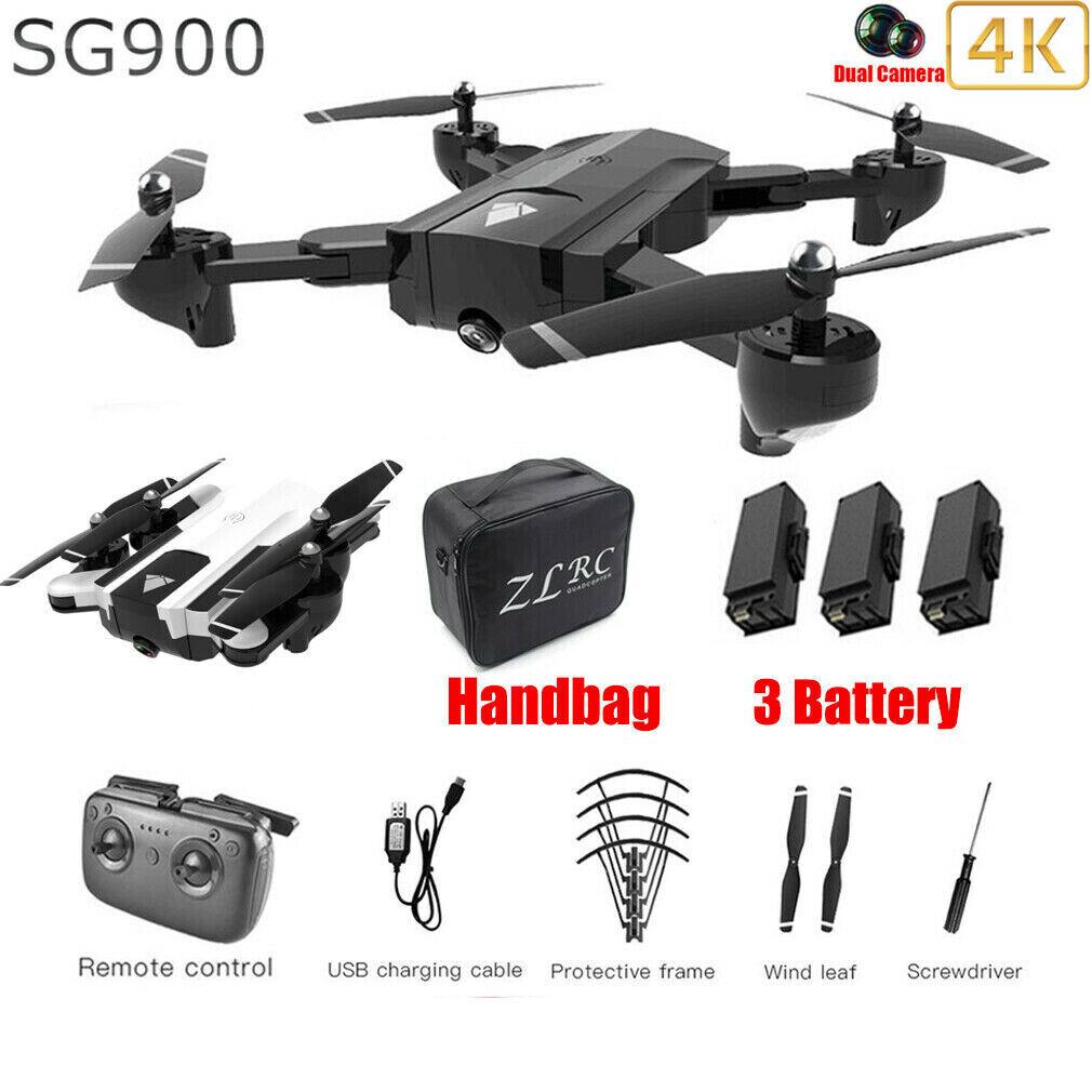 SG900 5G Wifi FPV Drone With 4K HD  teletelecamera Foldable RC Quadcopter Drone w  borsa  il più alla moda