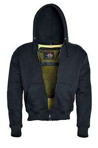 Moto-Hoodie-Biker-pleinement-Kevlar-carnets-nappes-capuche-haut-protection