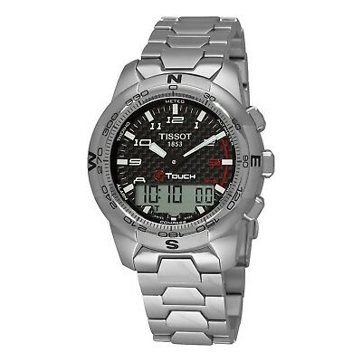 Tissot Men's T-Touch II Multi-Function Titanium Quartz Watch T0474204420700