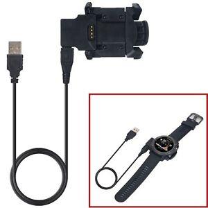 USB-Datenkabel-Ladegeraet-Dock-Ladestation-fuer-Garmin-Fenix-3-HR-Fenix-3-Quatix-3