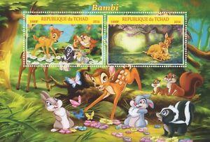 Bambi walt disney classic animazione cartone animato tchad 2016