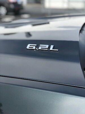 2019 Chevrolet Silverado 6.2 Liter Chrome Emblem~84192174 ...