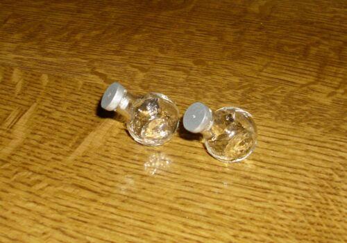 casa de muñecas Dos bonbongläser de vidrio-miniatura 1:12