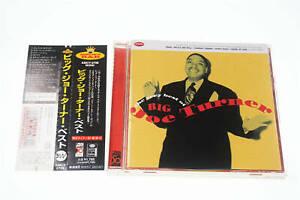 THE VERY BEST OF BIG JOE TURNER AMCY-2796 CD JAPAN OBI A11518