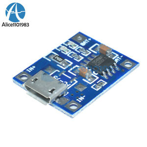 2PCS MICRO USB 1A Battery Charging Module TP4056 Precise