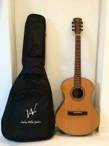 ANDREW AWC110/NAT Acoustic Electric Guitar Safe Shipping From Japan