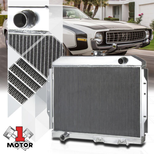 Aluminum 2 Row Performance Radiator for 58-74 AMC AMX//Javelin//Marlin//SST AT//MT