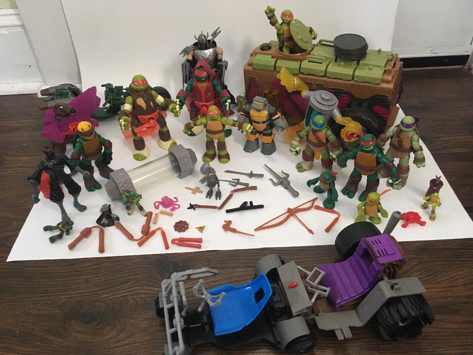 Teenage Mutant Ninja Turtles Turtles Turtles LARGE LOT    9ba309