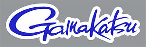 12-034-Blue-Gamakatsu-Quality-Decal-Sticker-Tackle-Box-Fishing-Boat-Trailer-Hooks