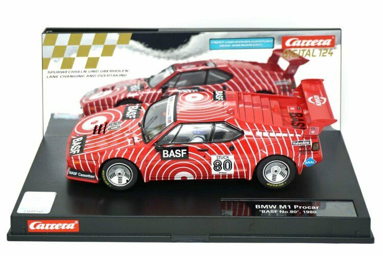 Carrera Digital 124 23821 BMW M1 Procar Basf No.80 No.80 No.80 1980 becd08