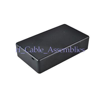 5x Plastic Electronic Project Box Enclosure Instrument case DIY 85*50*21mm Black