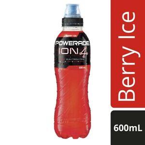 Powerade-Zero-Ion-4-Tasty-Electrolytes-Athlete-Sports-Drink-Berry-Ice-600mL