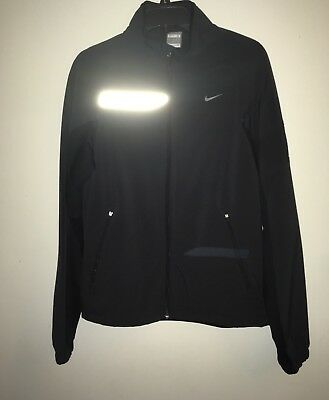 Hearty Nike Fitstorm Full Zip Jacket •black/dk Gray• Men's Small To Enjoy High Reputation At Home And Abroad Clothing, Shoes & Accessories Men's Clothing