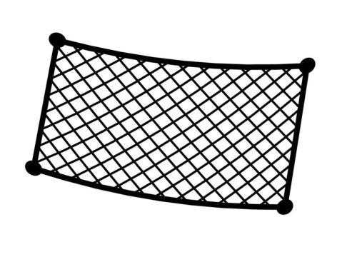 Lampa Elastische Netztasche 30 x 18 cm