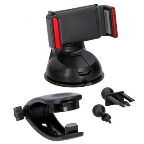 Porta Cellulare Supporto Auto Universale Cellulari Smartphone GPS Con Ventosa