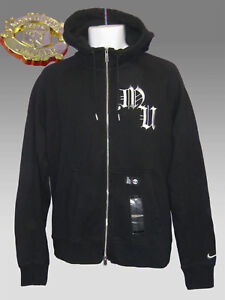 Club Manchester Aw77 Black New Hoodie M Superior Football Nike Jacket United qI5xxHwfa