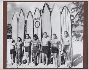 Image Is Loading KAHANAMOKU FRIENDS BROTHER 1927 WAIKIKI HAND PRINTED PHOTO