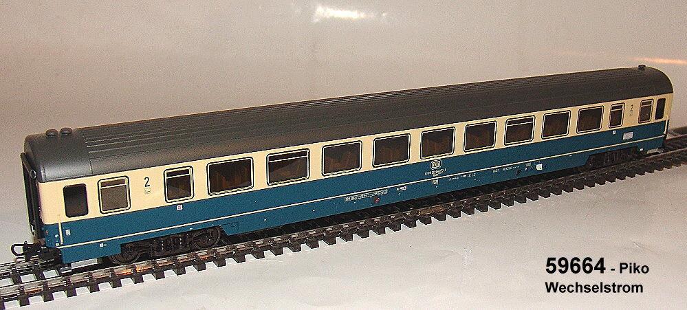 Piko  59664- IC Großraumwagen 2. Klasse Bpmz 211 - DC - neu OVP  | Genialität