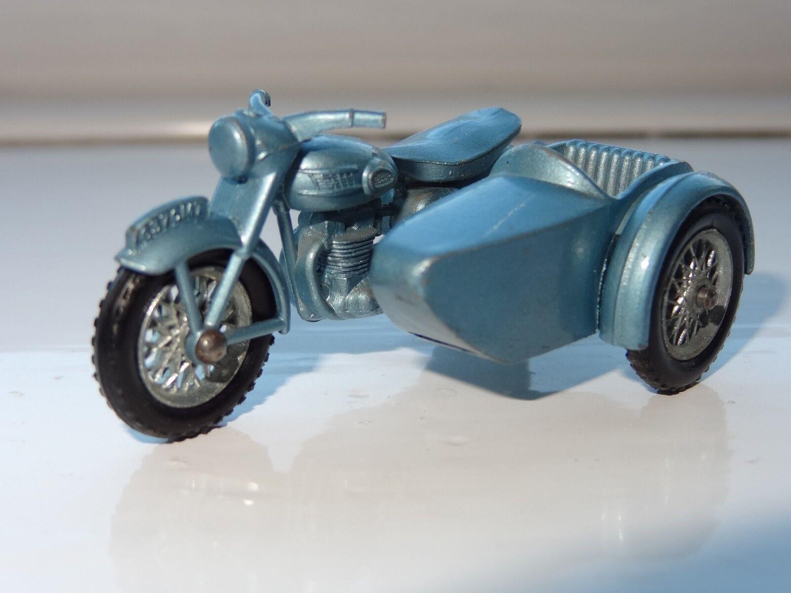 (W) lesney matchbox TRIUMPH T110 MOTORCYCLE & SIDECAR - 4
