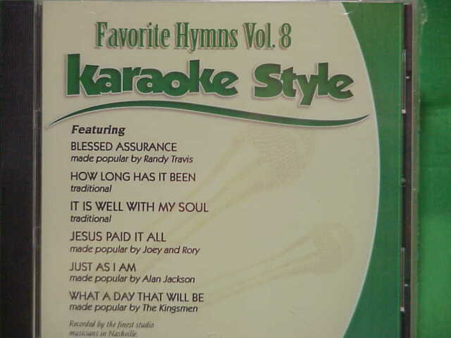 Musical Instruments & Gear Favorite Hymns Volume 7 Christian Karaoke Style New Cd+g Daywind 6 Songs Karaoke Cdgs, Dvds & Media