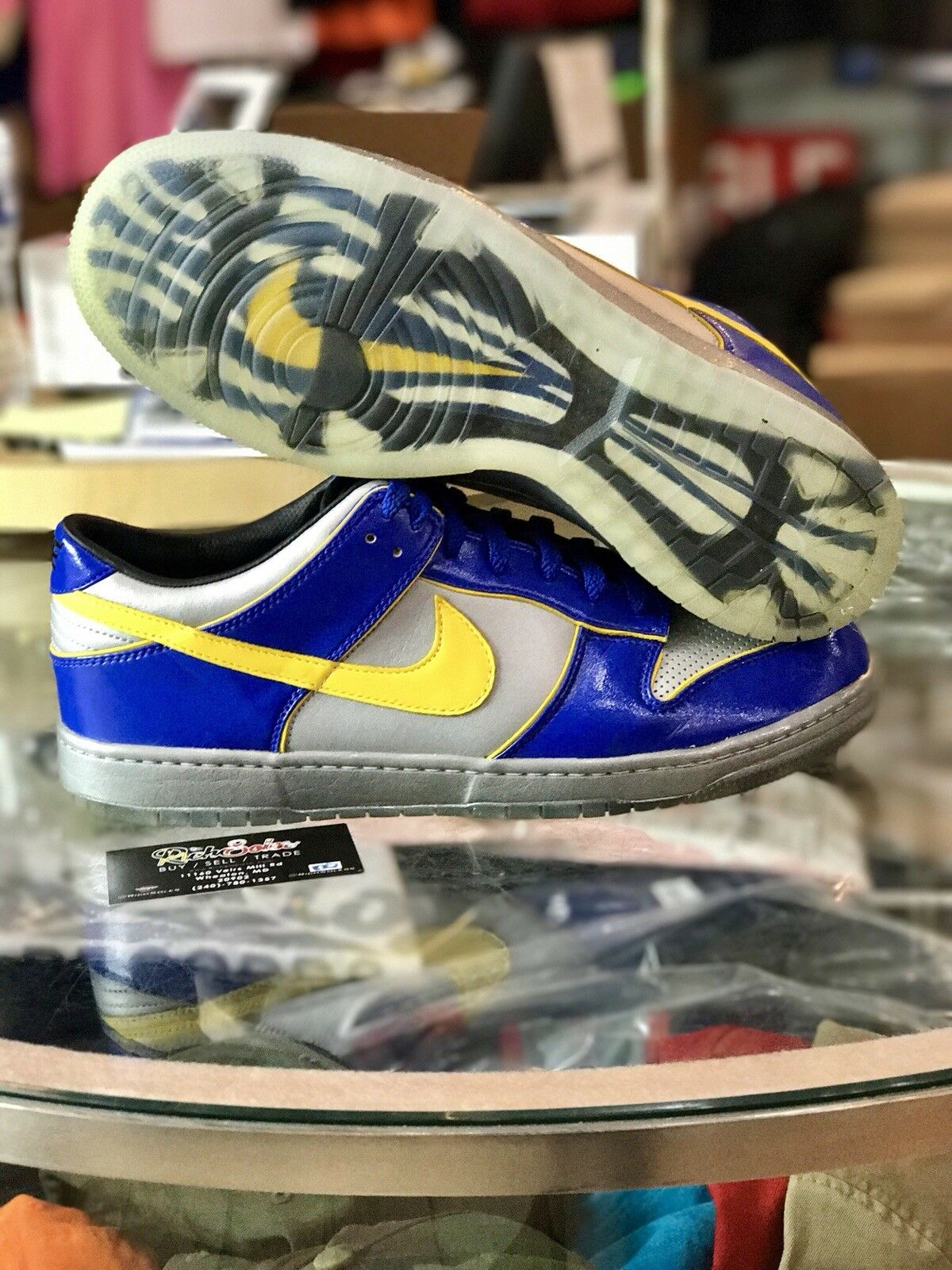 Nike Dunk Low Supreme Ronaldo Edition  318643-071 Sz 13 Brazil FIFA Limited R9