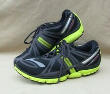 9841165f0cb BROOKS PURE CADENCE 2 MENS RUNNING SHOES SIZE 7.5 BLACK NEON 1101401D671