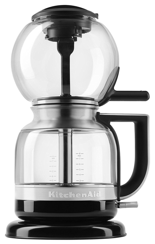 Kitchenaid KCM0812OB Siphon Coffee Brewer, Onyx Noir