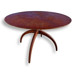 Details About Rare Vtg Tlc Henredon Sculptural Horn Leg Spider Leg Dining Table With Leaf Mcm