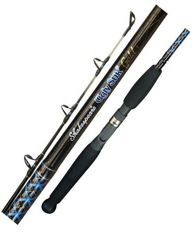 Ugly Stik Gold Spin Rod - 4'6'' 4-8 kg 1 Piece - USG-SP46H Fishing  + Free Post