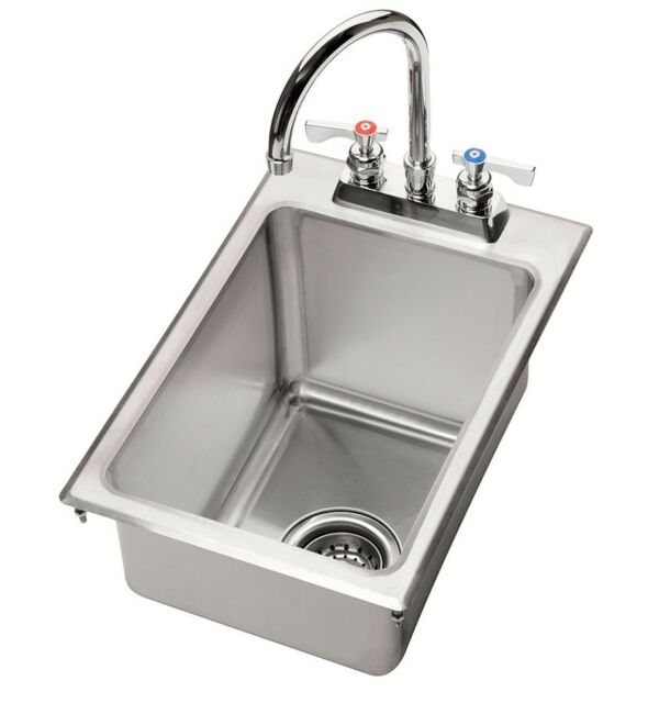 "HS-1317 Krowne 13/"" x 17/"" Drop-In Hand Sink"