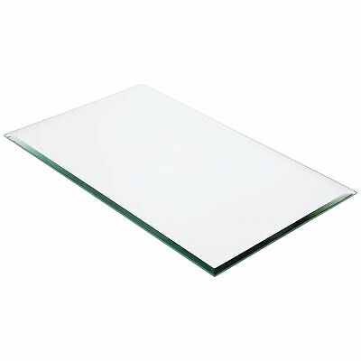 10 inch x 10 inch Plymor Round 5mm Beveled Glass Mirror Pack of 2