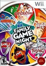 HASBRO FAMILY GAME NIGHT 2 Nintendo Wii Game
