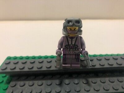 LEGO STAR WARS ZAM WESELL MINIFIGURE BOUNTY HUNTER MADE OF LEGO PARTS