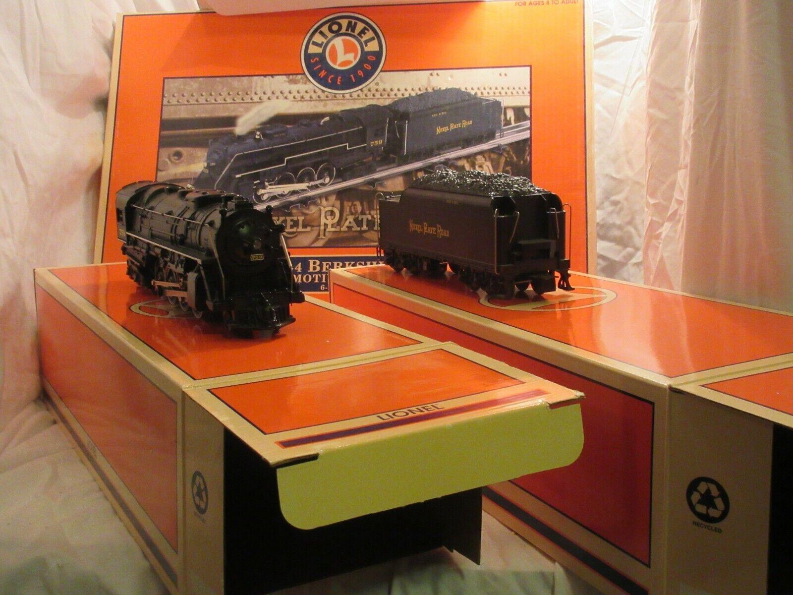 Lionel 28074 Nickel Plate Road 759 O Gauge Berkshire Steam Engine and Tender