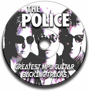 THE-POLICE-STYLE-MP3-ROCK-POP-GUITAR-BACKING-TRACKS-COLLECTION-JAM-TRACKS-CD