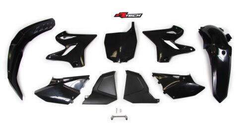Yamaha YZ125 2008 2009 Black Restyle to 2015 Plastic Kit Plastics YZ0-NR0-001