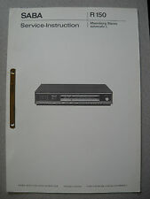 SABA Meersburg Stereo Automatic L Service Manual