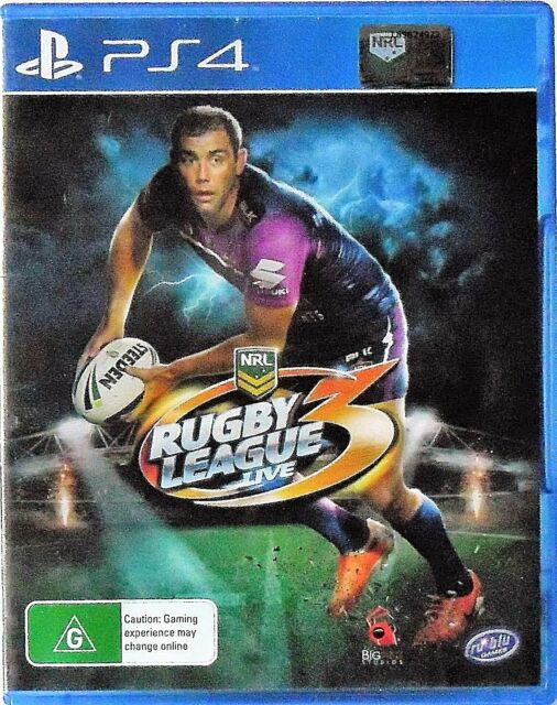 Rugby League Live 3 PS4